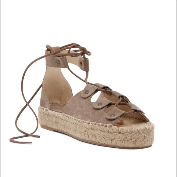 f2e020ed849 Soludos Ghillie Suede Platform Espadrille Sandals.  M 5b15ce39df03074f4c2e2ec3